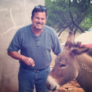 Sedona homeowner Dan Mattice has Verde River property where wild burros roam, a welcome and friendly sight to most Arizona property owners.