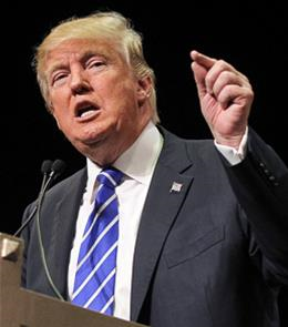 Republican Presidential nominee Donald Trump