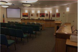 City of Sedona Council Chamber