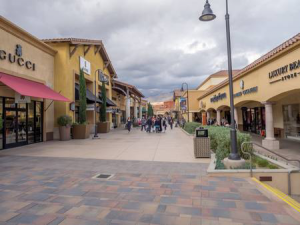 Palm Desert California El Paseo Shopping District aka The Rodeo Drive of the Desert - Gucci